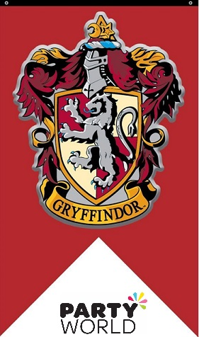 Harry Potter Gryffindor House Wall Flag 1x 30x52cm Fabric Flag With Eyelets For Hanging Fun H Harry Potter Decor Harry Potter Hogwarts Houses Harry Potter Room