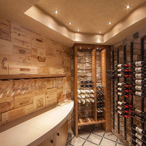 Weinkeller einrichten  Weinkeller einrichten: Bilder & Ideen | Wanting Wine Cellars ...