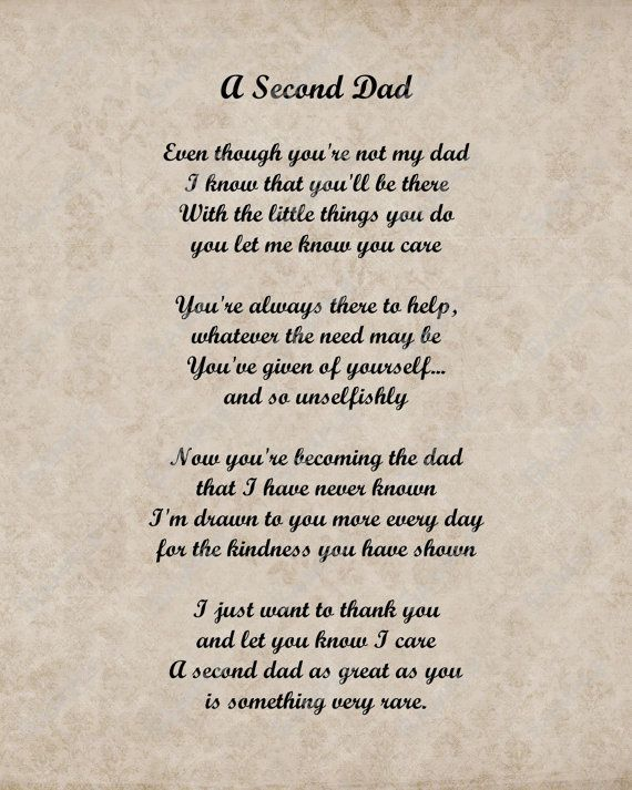 A Second Dad Father Dad Fathers Day Father's Day Father's Day Quotes Gorgeous Quotes About Stepfathers And Daughters