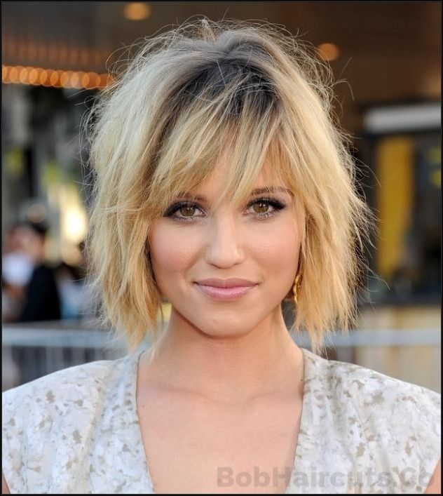 Long Bob Haircuts For Round Face Longbob Hairdo It Yourself