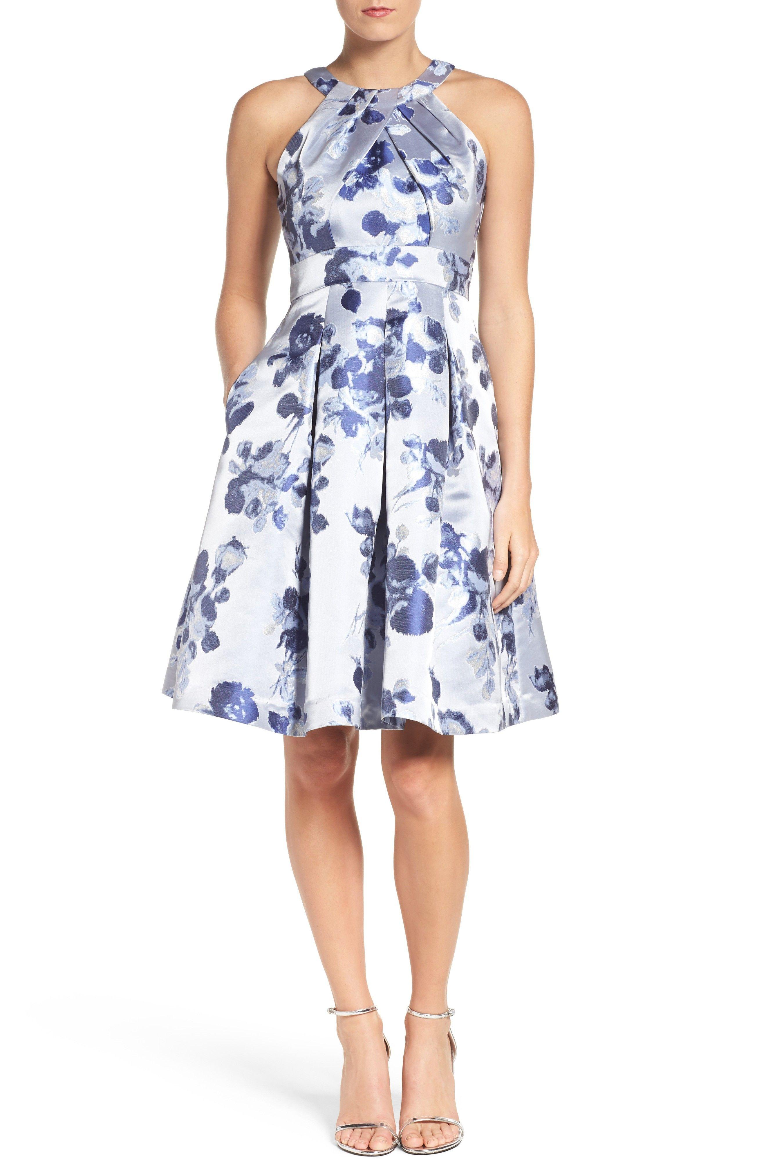 New eliza j floral fit flare dress fashion online shop