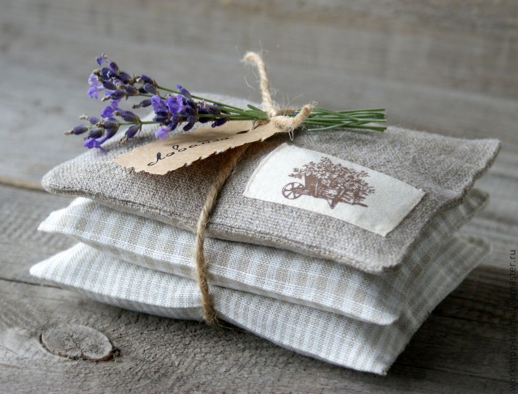 Lavender sachets beautifully packaged!
