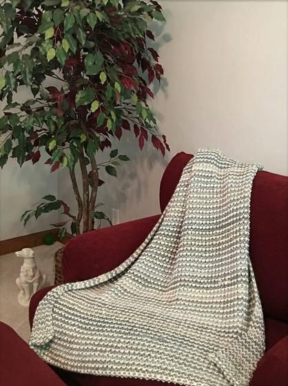 Relaxation Blanket Throw Knitting Patterns And Crochet Patterns