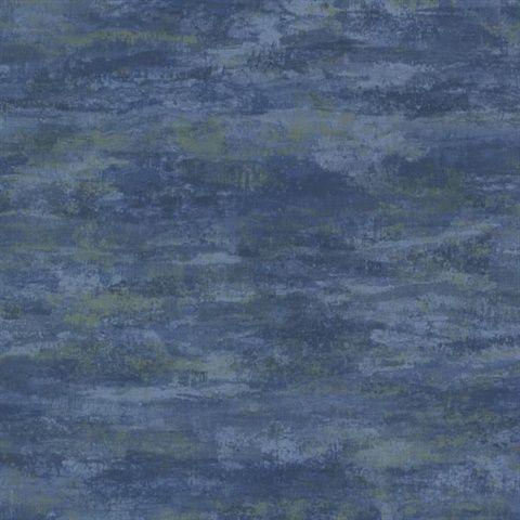 HZN43116 | Impressions Blue Texture | Wallpaper Boulevard