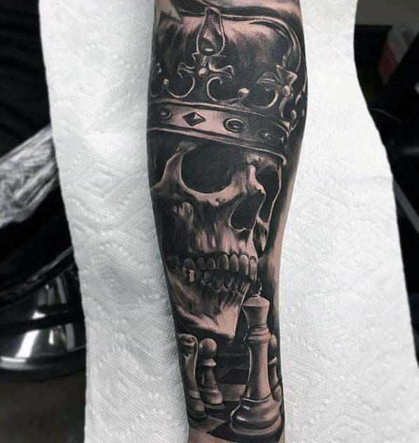 50 badass forearm tattoos for men cool masculine design ideas tattoos and body art. Black Bedroom Furniture Sets. Home Design Ideas
