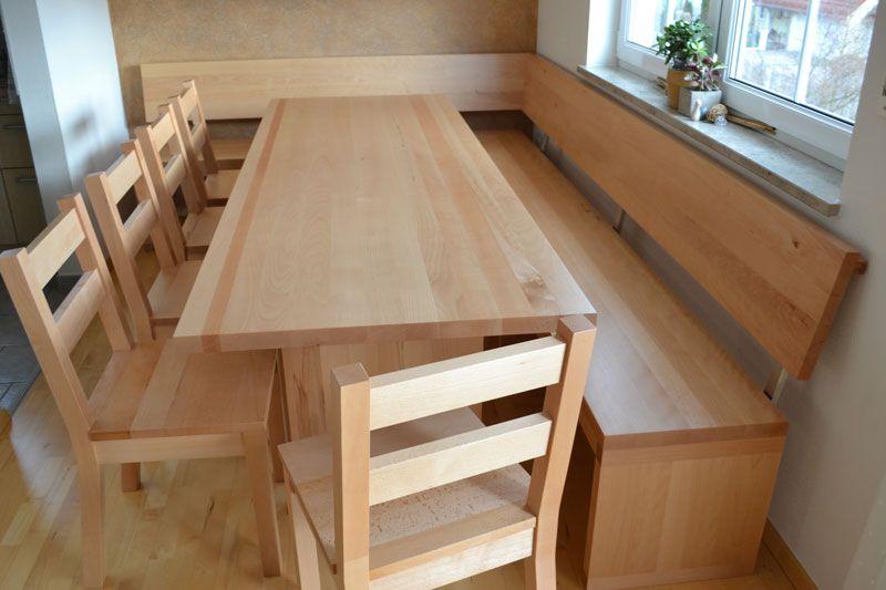 Eckbank Esszimmer Holz