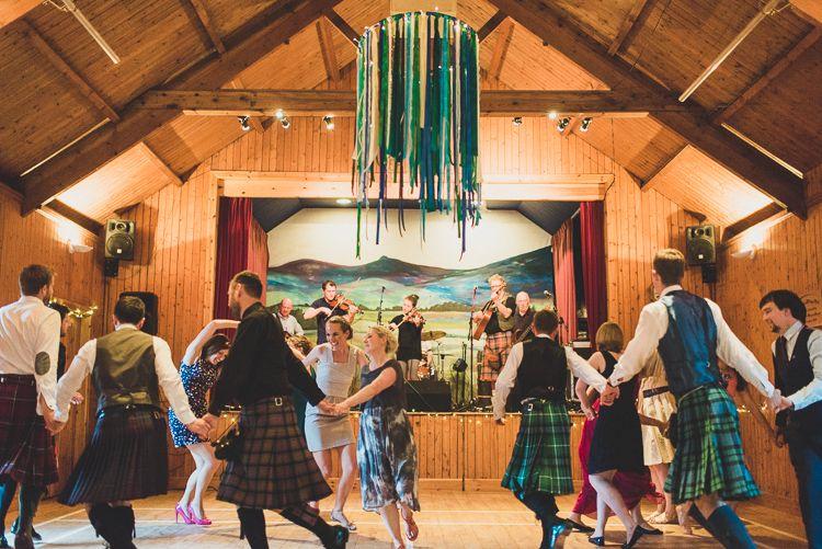 Ceilidh Band Cornflower Blue Jade Green Scottish Wedding Mattpenberthy