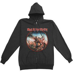 Iron Maiden - Hooded Sweatshirts - Zippered Band $59.95