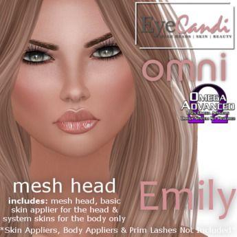 Emily || Eye Candi #Omni (#OMEGA compatible) #MeshHead