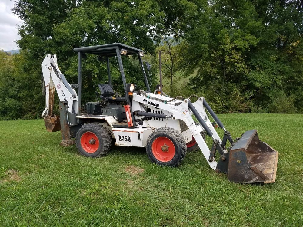 2006 Bobcat B250 Mini Compact Loader Backhoe Excavator Hydraulic Plumbed Tractor Repair Manuals Backhoe Loader Backhoe