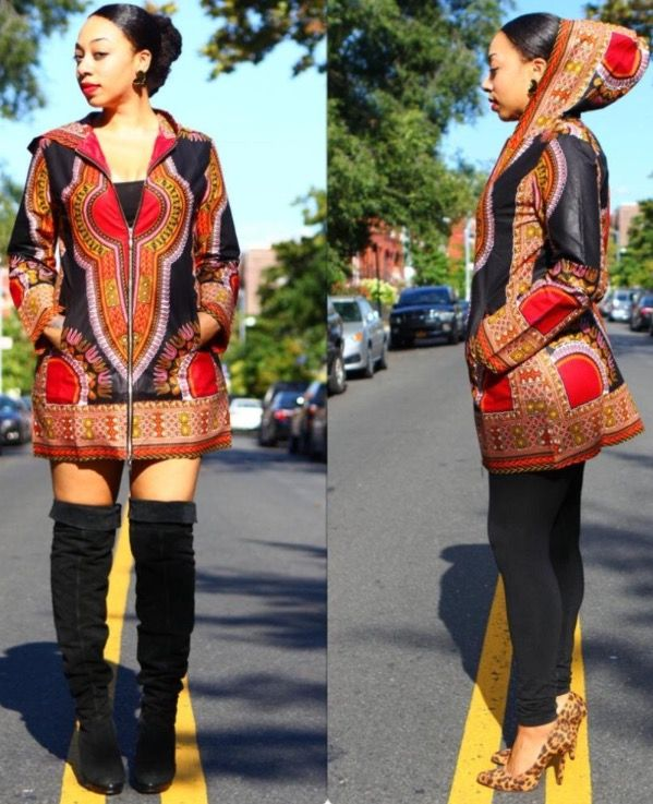 5dab45c16eb Fall and winter African style ! Amazon affiliate love this African Style