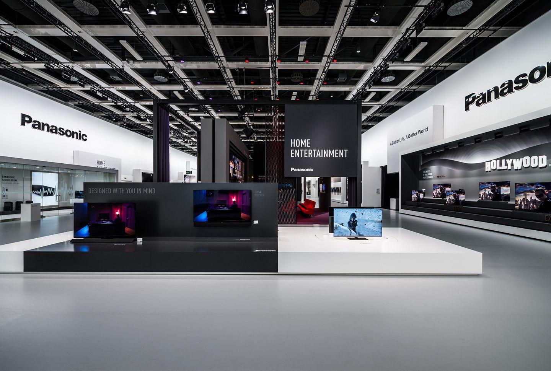 Panasonic Ifa 2018 By Dart Design Gruppe Messedesign Messeauftritt Messe Fotografie