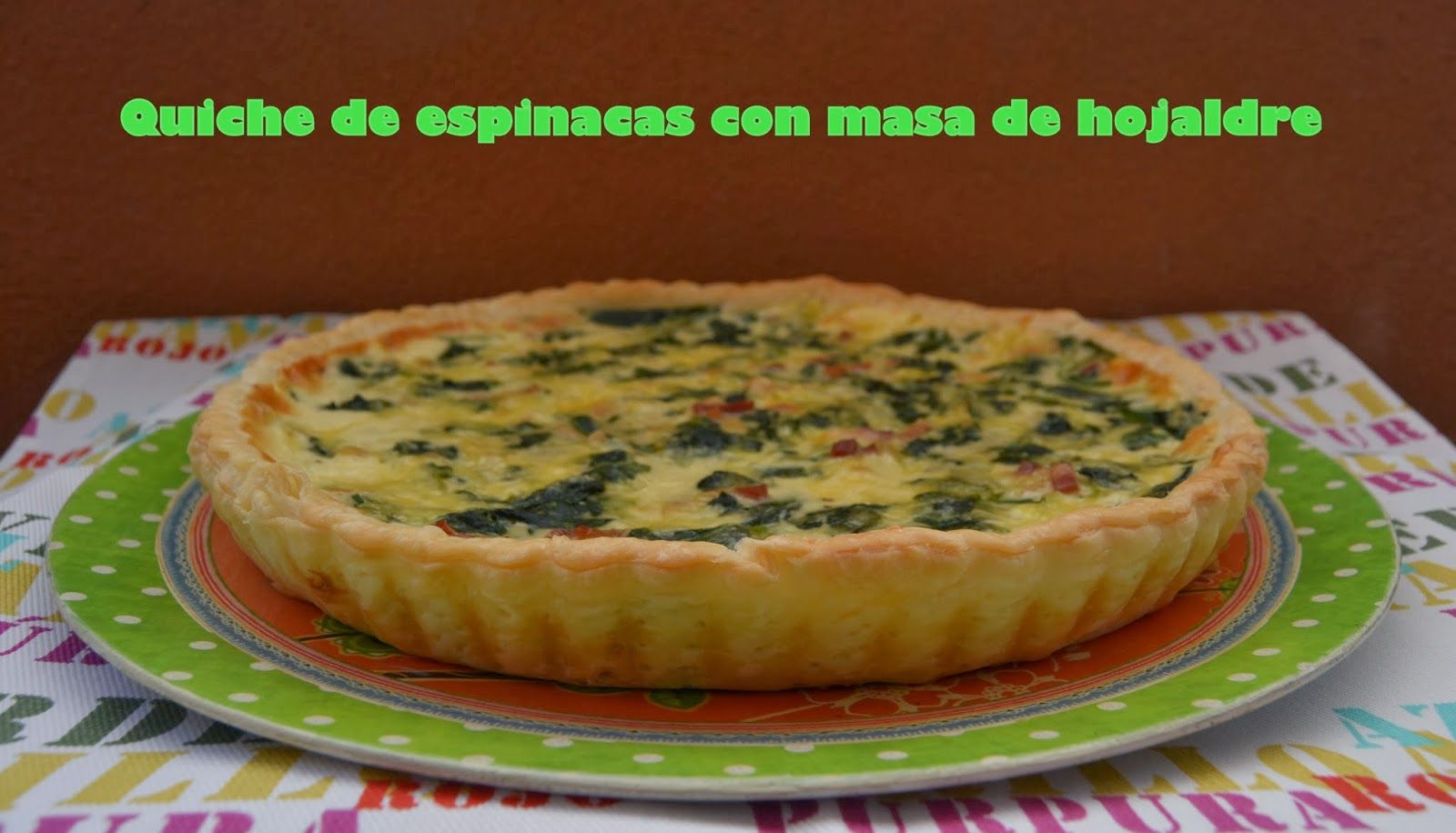 Quiche De Espinacas Savoury Food Food Recipes