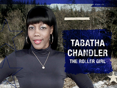 """From roller derby to champion, my friend, Tabatha Chandler, tells her story of getting to the new reality show, """"American Grit""""! #rollerderby #americangrit #tabathachandler #chattanoogarepresent #realityshows #derbylife #TheRollerGirl #GoldieKnocks #ChattanoogaRollerGirls"""