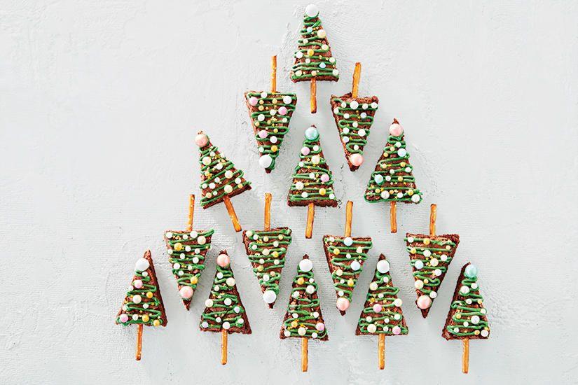 Christmas Tree Brownies Christmas tree brownies