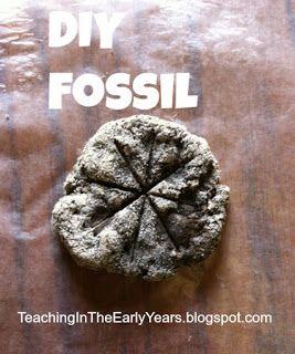 Classroom DIY: DIY Fossils