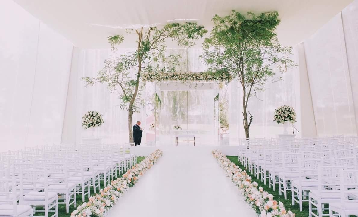 Wedding decorations dusty blue december 2018 Pin by Daniela Acevedo on Wedding  Pinterest  Wedding