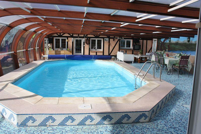 Gîte avec piscine couverte et chauffée à 10km du0027Etretat et 15km de - location villa piscine couverte chauffee
