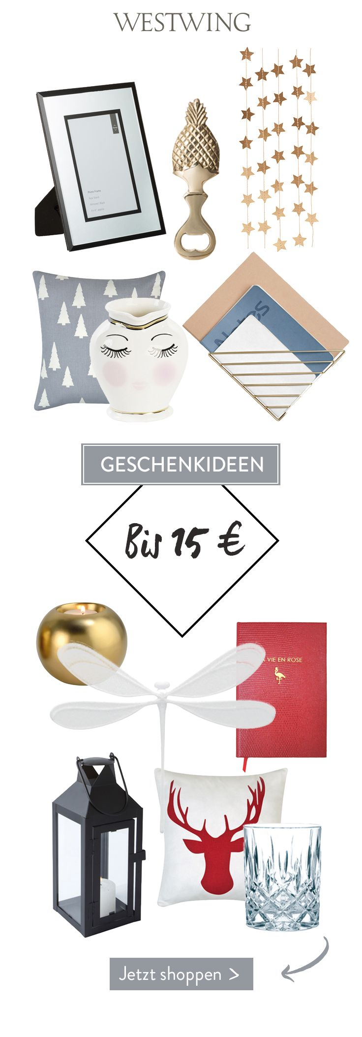 Geschenkideen bis 15 €: Klein aber fein! Du suchst nach einem ...