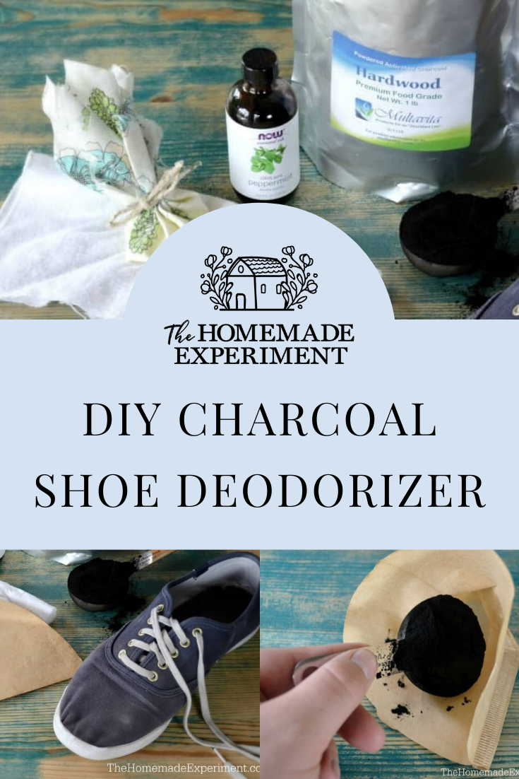 How To Make Homemade Charcoal Shoe Deodorizers Diy Activated Charcoal Deodorize Shoes Shoe Odor Eliminator