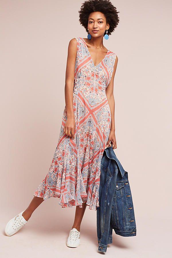 Diya Printed Dress | Anthropologie | dresses | Pinterest
