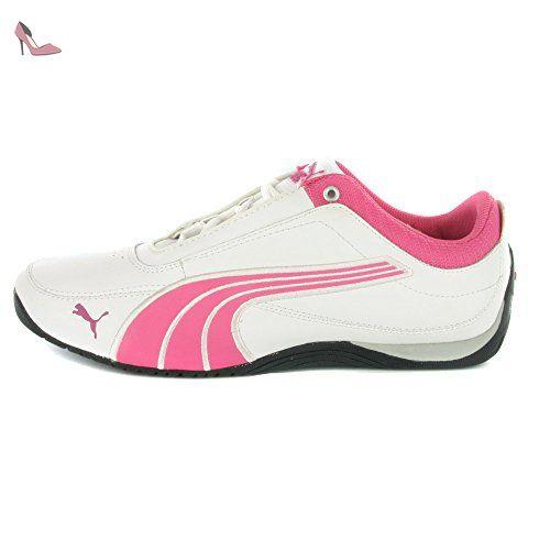 chaussure puma rose femme