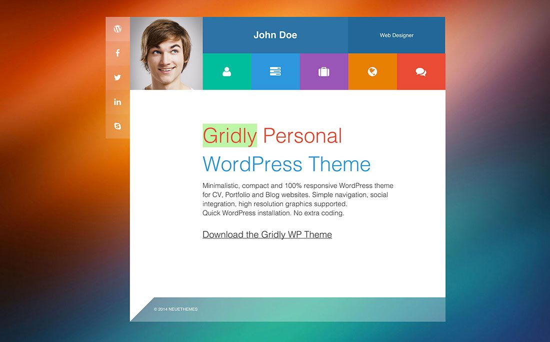 30 Best vCard & Resume WordPress Themes 2020 Wordpress