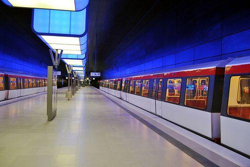 Hamburg U Bahn Station Hafencity Universitat Ii
