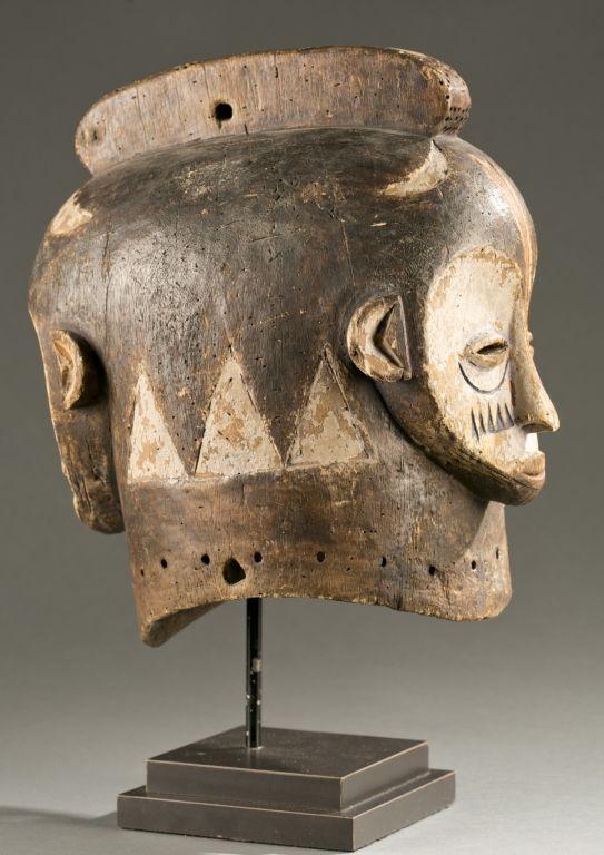 Fang helmet mask, 20th century.