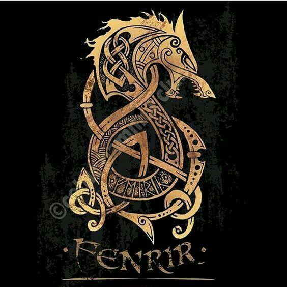 Fenrir wolf symbol - photo#35