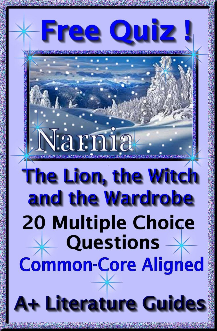 Free 20 question multiple choice quiz for The Lion, the Witch and the  Wardrobe!