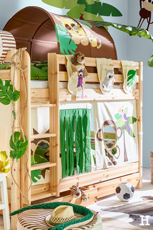 Verwandel das Kinderzimmer in einen Dschungel mit den