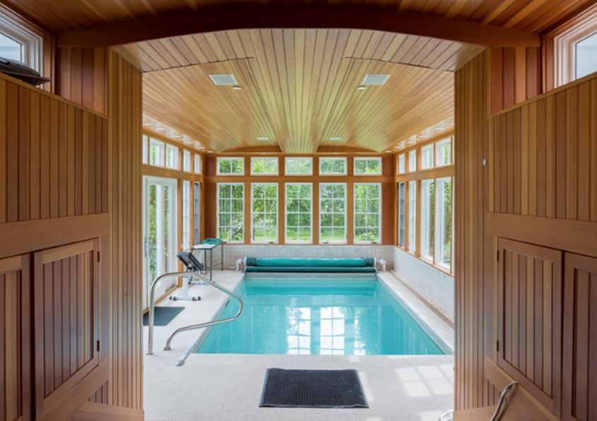 Indoor Resistance Pool | indoor pools | Small indoor pool ...