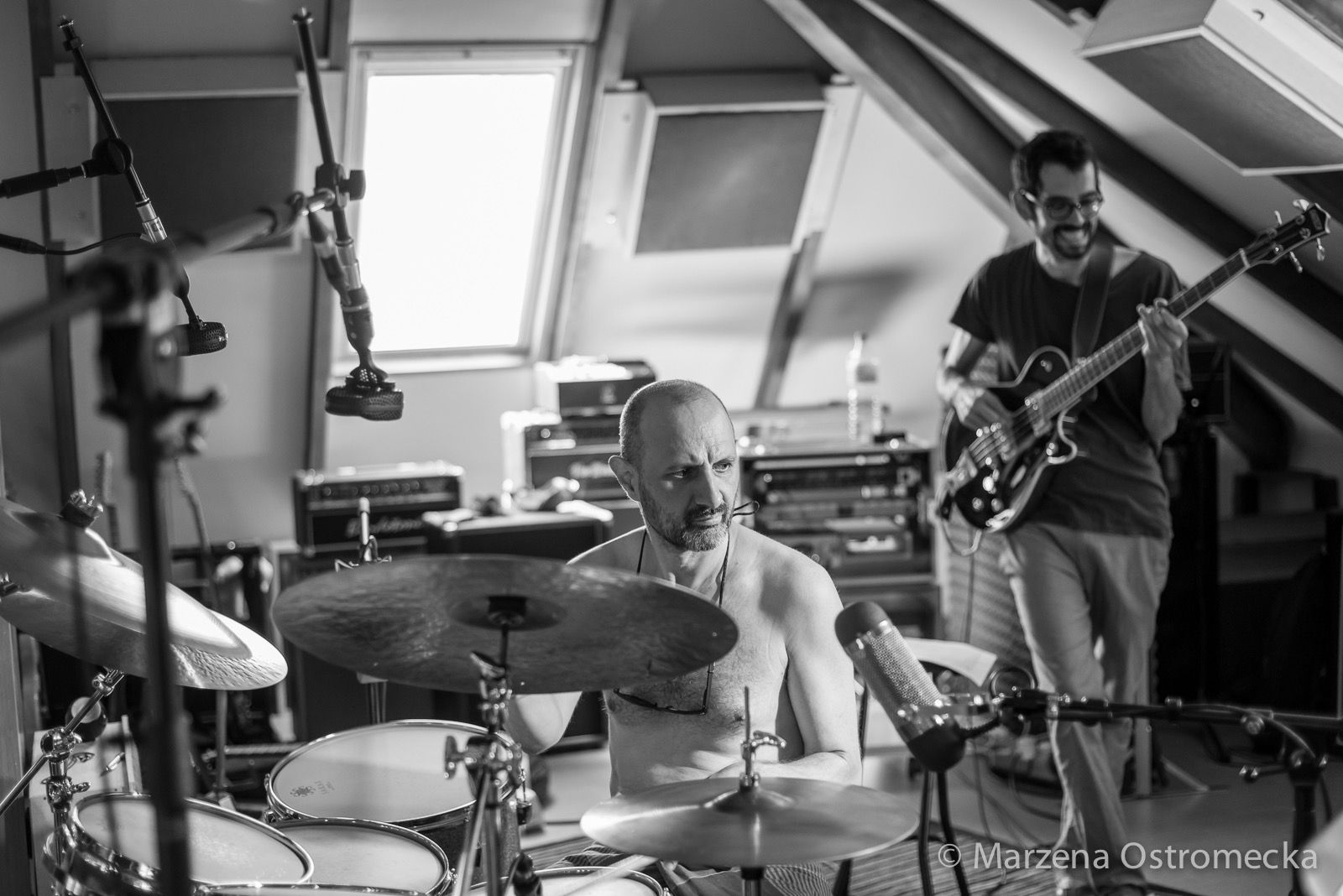 Chris Cheek, Jorge Rossy, Steve Cardenas and all that Jazz - Blog - Simon Campbell - recording at Supertone Records residential recording studio, Estivella, Valencia. Spain