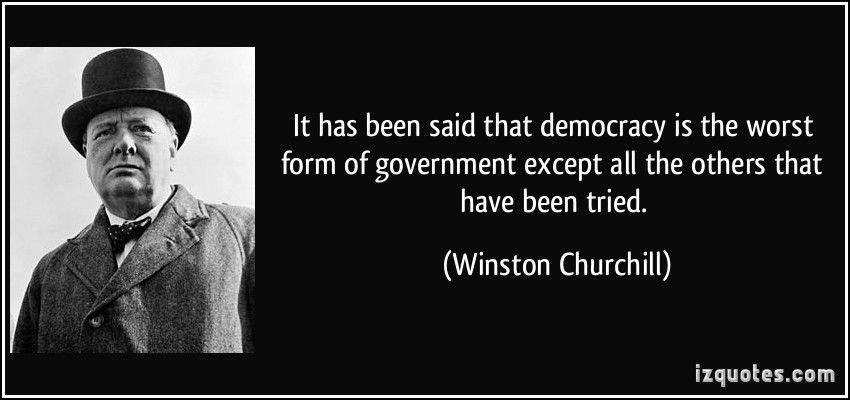 Democracy, the Worst Form of Government Ever Tried: Our Founders ...