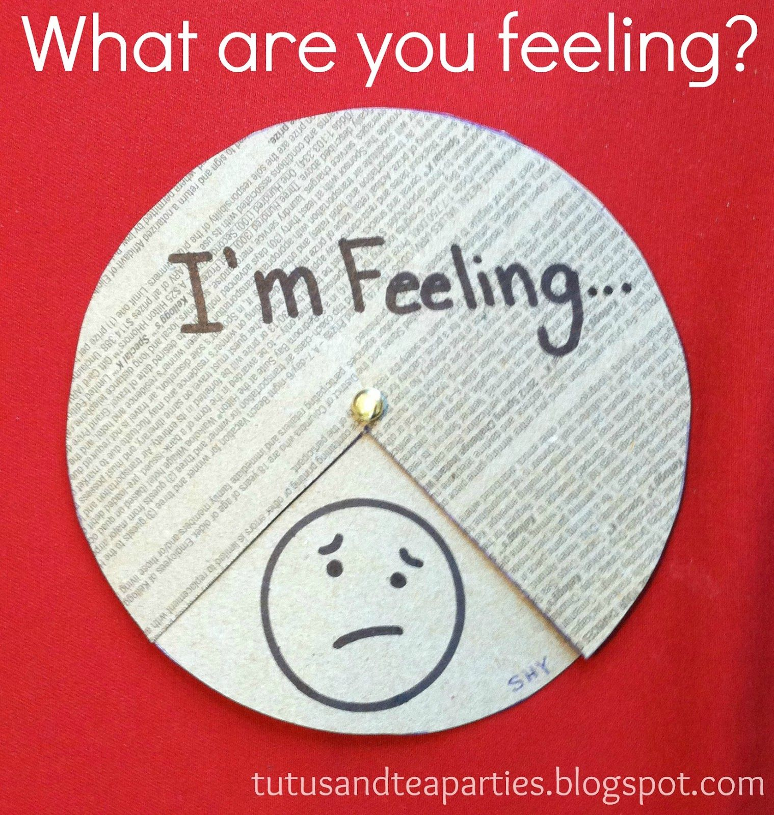 Feelings Wheel, Emotional