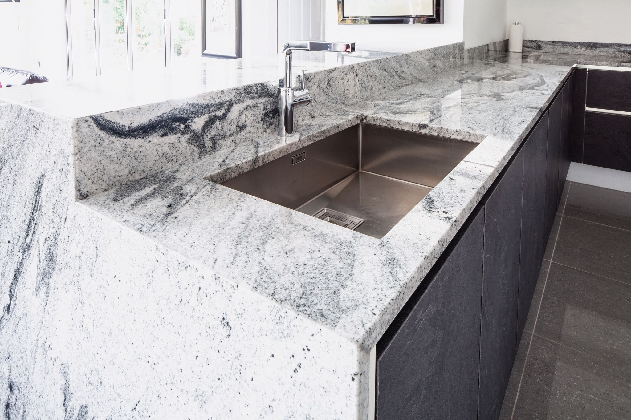 Viscount White natural granite worktops | Ideas for the House ...