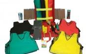 Kit Desastre Kit completo utilizado na triagem de vítimas em situações de desastre de acordo com padrões internacionais. Bolsa confeccionada em nylon na cor vermelha, com forração em nylon na cor cinza, dividida em 2 compartimentos. Possui alça de mão e alças costais, podendo também ser transportada como mochila.