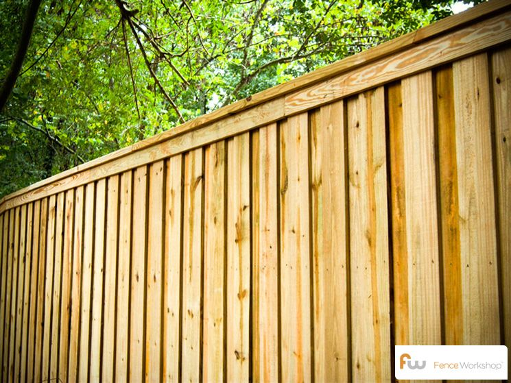 The Tillman Wood Privacy Fence Pictures Per Foot Pricing