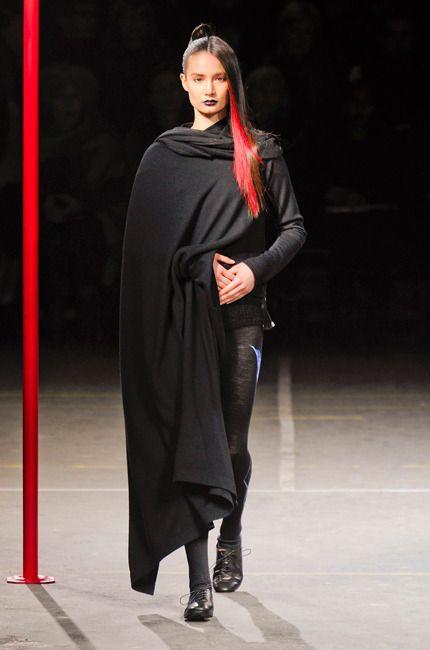 Défilé Yohji Yamamoto Automne-hiver 2012-2013