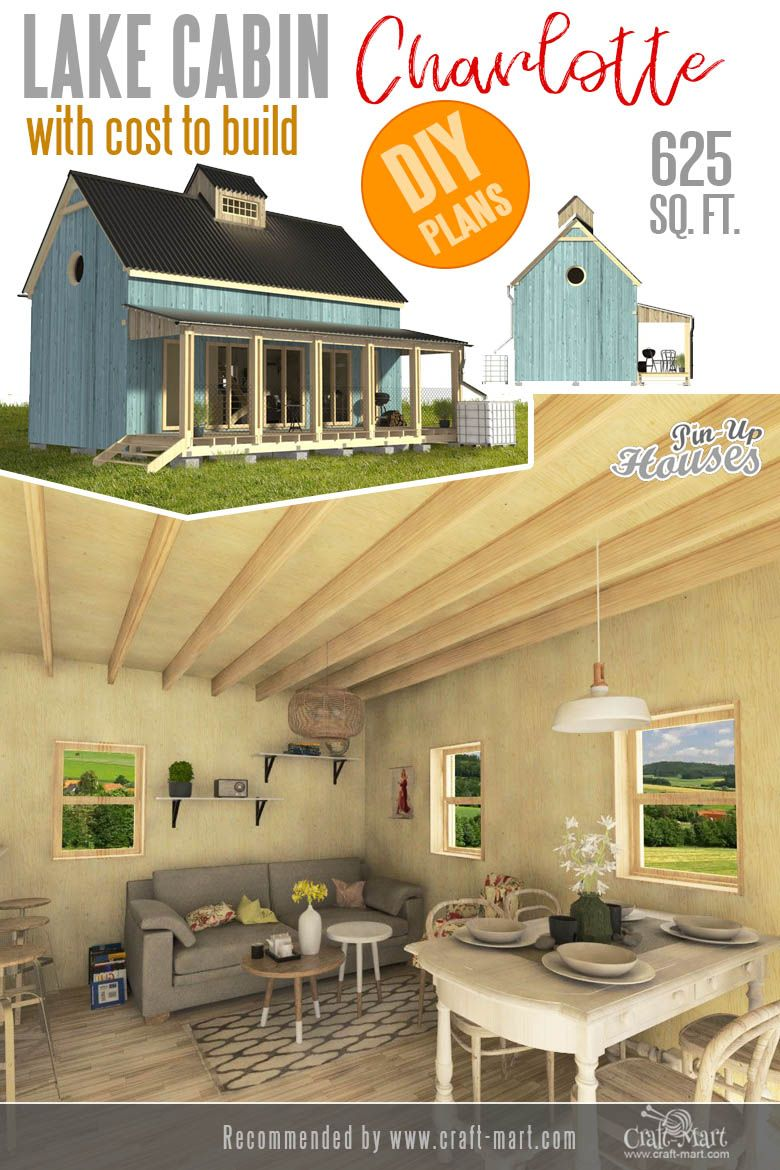 Awesome Small And Tiny Home Plans For Low Diy Budget Craft Mart Tiny House Plans House Plans Wood Projects Plans