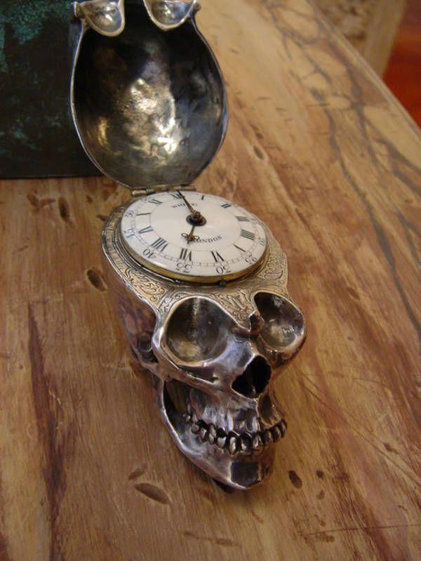 Skull watch ...