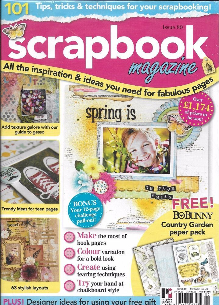 Scrapbook magazine spring projects texture teen trends stylish scrapbook magazine spring projects texture teen trends stylish layouts country solutioingenieria Images