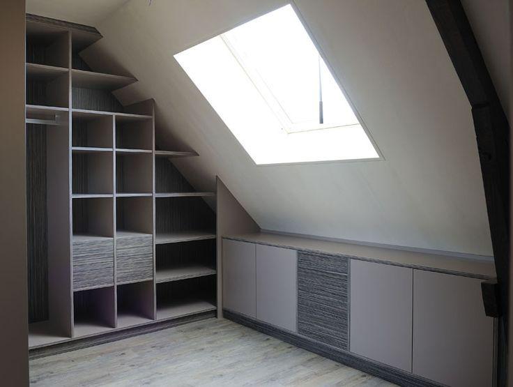 Resultat De Recherche D Images Pour Dressing Sous Pente Kleiderschrank Fur Dachschrage Wohnung Loft Wohnung
