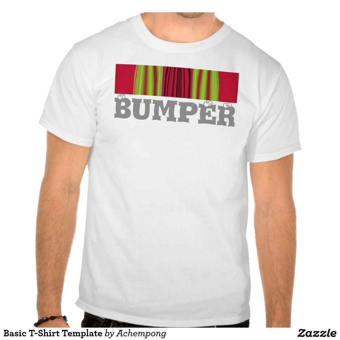 Basic T-Shirt Template   Woman clothing, Basic t shirts and Children