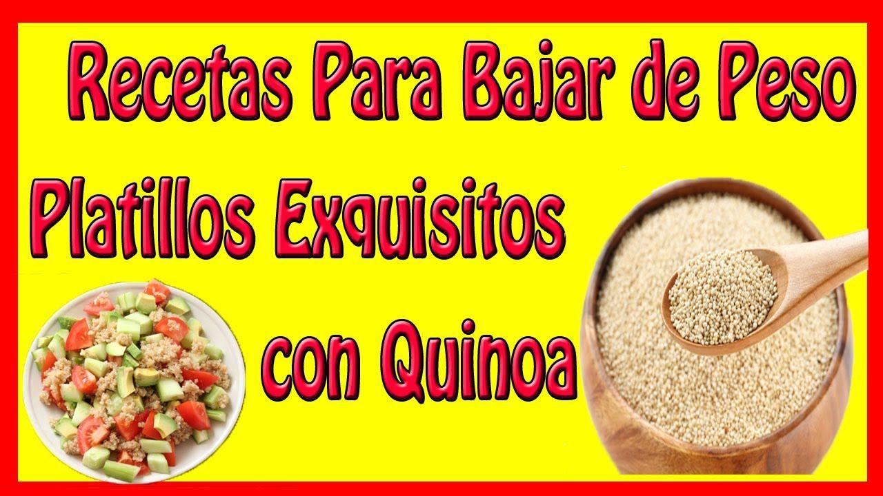 Recetas Para Bajar de Peso – Platillos Exquisitos con Quinoa