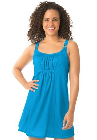 ee368a42545be 2-piece tunic swimdress by Swim 365® | Swim Wear | Pinterest ...
