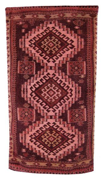 Adobe Rug Bath Towels in Rust design by Fresco Towels