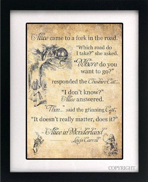 Alice In Wonderland Book Quotes: Alice In Wonderland Cheshire Cat