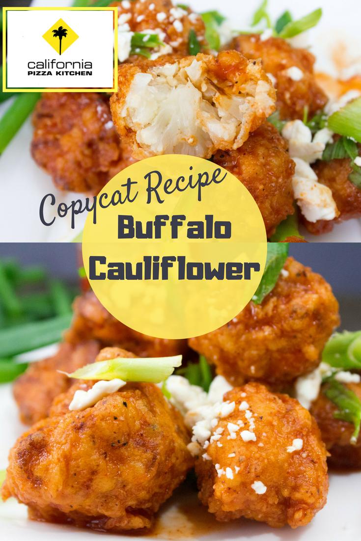 Buffalo Cauliflower Bites Recipe Cpk Inspired Recipe